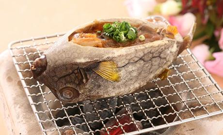 お食事和食処ばらもん はこふぐの味噌焼き