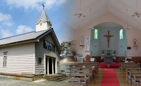 貝津教会【三井楽】